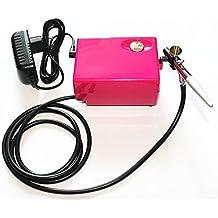 ABEST 3 velocidades de presión ajustable de alta definición belleza del maquillaje con aerógrafo aerógrafo kit compresor Impresión