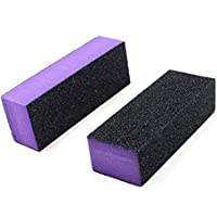 12Unidades de 3seitige alta calidad bloques lijado para limas para manicura y uñas
