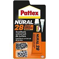 Pattex Nural 28, sustituto universal de juntas, color naranja, blister 40 ml