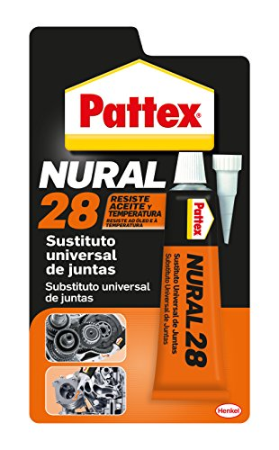 Pattex Nural 28, sustituto universal de juntas, color naranja, blister 40 ml