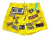 Dsquared Costume da Bagno Uomo Boxer Corto D7B642580.200 DSQ2 Punk Swim Shorts TG. 50 IT