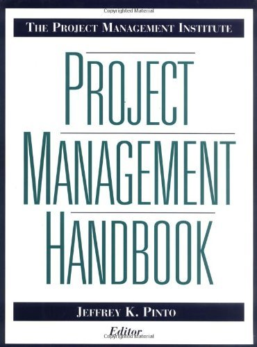 The Project Management Institute Project Management Handbook (Jossey-Bass Business & Management Series) by Jeffrey K. Pinto (1998-09-02)