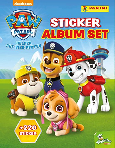 PAW Patrol Sticker Album Set -