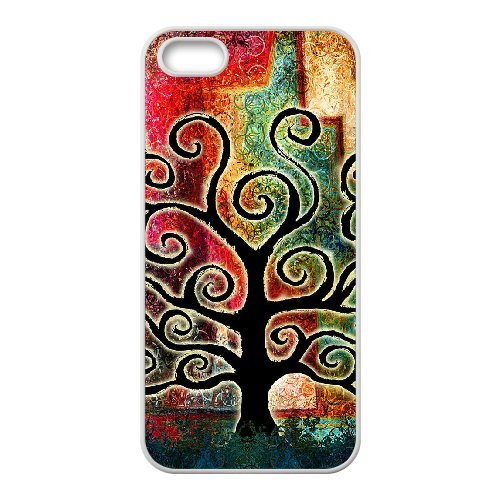LP-LG Phone Case Of Tree of Life For iPhone 5,5S [Pattern-6] Pattern-5