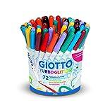 Giotto 516800Kit de Dessin feutres à Paillettes