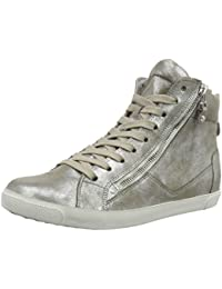 Kennel und Schmenger Schuhmanufaktur Damen Queens-Sneaker-Zip High-Top