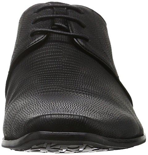 Belmondo 752326 01, Chaussures à Lacets Homme Noir - Noir