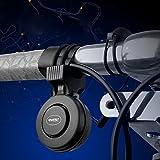 Dxlta USB Wiederaufladbare Fahrradklingel 120dB Wasserdichte Lenker Fahrrad Horn Alarm für Radfahren RoadBike Mountainbike