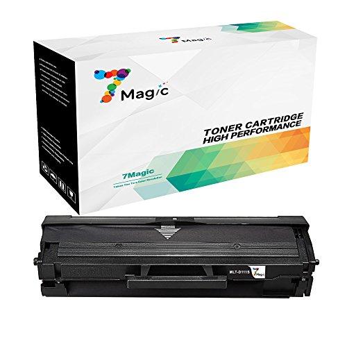 7Magic Compatibles Samsung MLT-D111S la Laser Cartouche de Toners (1 Noir) Replacement pour Samsung Xpress SL M2070 M2070w M2070fw M2022w M2022 M2020 M2020w M2026w M2026 Imprimantes