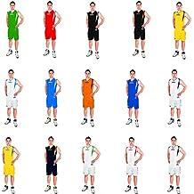 Legea Kit Basket Detroit Completo Baloncesto Para Hombre Sport Pegashop (BLANCO, L)