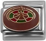 Roulette Tisch-Charm-Anhänger für klassisches italienisches Nomination & Zoppini Charm-Armbänder