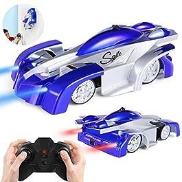 SGILE 4CH Auto da Corsa Telecomandata RC Arrampicabile sulla Parete Scalatore Rocket Toy Car Racer