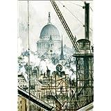 Impresión en metacrilato 50 x 70 cm: St Paul's Cathedral from the Telegraph Building off Fleet Street de Christopher Nevinson / ARTOTHEK