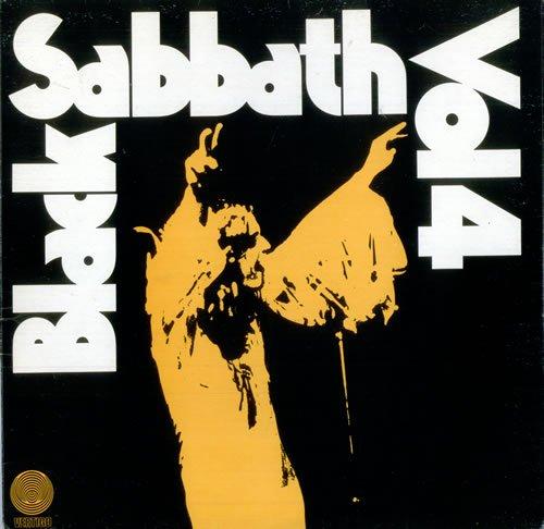 Black Sabbath Vol 4 - Spiral Label 1972 UK vinyl LP 6360071