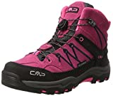 CMP Campagnolo Unisex-Erwachsene Rigel Mid Wp Trekking-& Wanderstiefel, (Pink Fluo-Asphalt), 34 EU