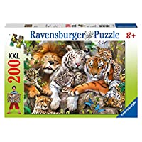 Ravensburger 12721 Big Cat Nap XXL 200pc Jigsaw Puzzle, Multicoloured