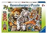 Ravensburger 12721 - Schmusende Raubkatzen