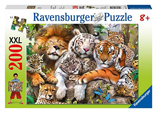 Ravensburger Italy- Rav Pzl 200 Pz. Grandi Felini 12721, Multicolore, 878610