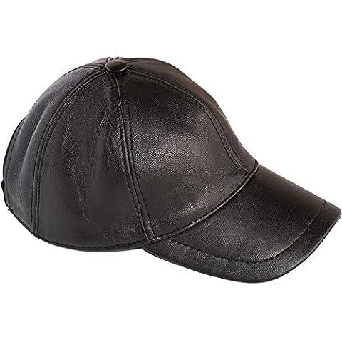 Dazoriginal Baseball Cap 100% Genuine Leather Lambskin