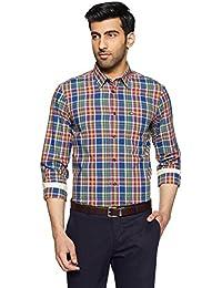 Arrow Men's Solid Slim Fit Business Shirt