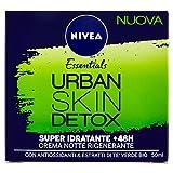 NIVEA Urban Skin Detox Super Idratante +48H Crema Notte - 50 ml