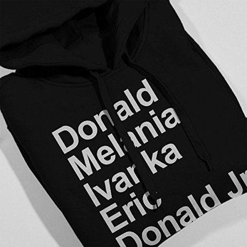 Arial Trumps Donald Trump Women's Hooded Sweatshirt Black