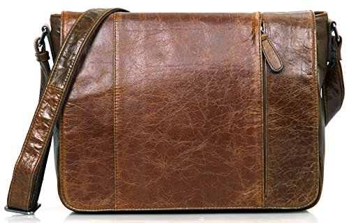 Everdoss, Borsa a spalla uomo, Brown (marrone) - JMD-7338-BRN Brown