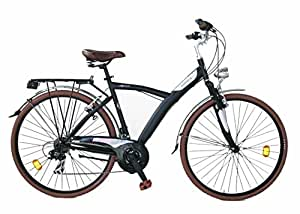 Cicli Gloria Niguarda City Bike 28, Nero Matte