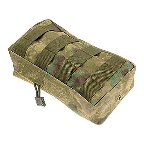 hunpta Sport Gilet tactique Utility Taille Pochette Sac de taille de Chasse extérieur, D