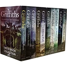 The Dr Ruth Galloway Mysteries 10 Books Box Set by Elly Griffiths (The Dark Angel, A Room Full of Bones, The Outcast Dead, The Janus Stone, The Ghost)