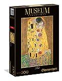 Clementoni- Klimt Il Bacio Museum Collection Puzzle, 500 pezzi, 35060