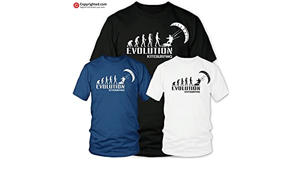 Toptshirt T-Shirt Kite Kitesurf Addict