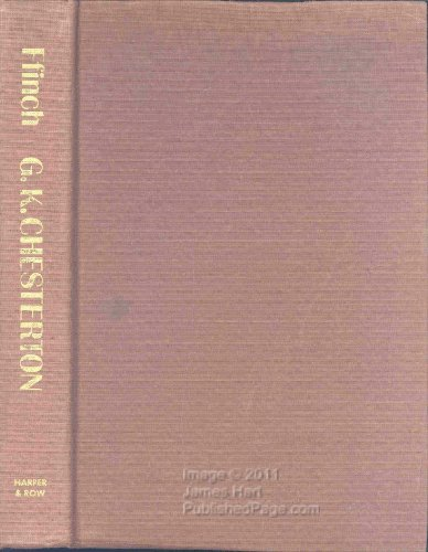 G.K. Chesterton: A Biography