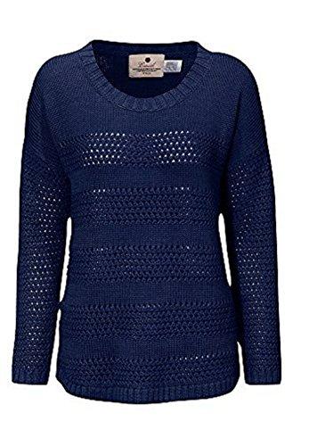 holidaysuitcase VACANCES VALISE dames hiver Crochet Tricot Marine ou corail. taille 10 pour 24 UK Bleu Marine