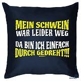 Goodman Design  tolles Sofa Couch Bett Kissen: Dekokissen Couchkissen Sofakissen Geschenk Geburtstag Weihnachten