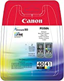 Canon PG-40 / CL-41 Original ink cartridge, black color
