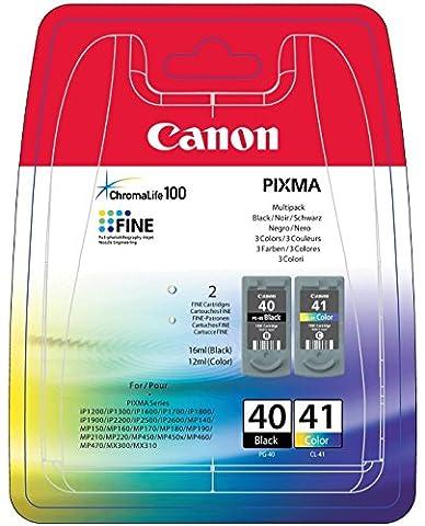 Canon PG-40 / CL-41 Original ink cartridge, black color