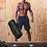 Fitness-Sandsack mit Griff verstellbarem Gewicht für Sportübungen 4 Innentaschen