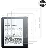 """[3-Unidades] Kindle Oasis 7"""" (17,7 cm) Protector de Pantalla, Akwox [Resistente a Arañazo] [Alta Definición] PET Película de protección para Kindle Oasis 2017"""