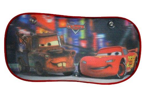 Unbekannt XL Heckscheiben Sonnenschutz - Disney Cars - Sonnenblende - für Kinder Heckscheibe Auto Lightning Queen / Jungen