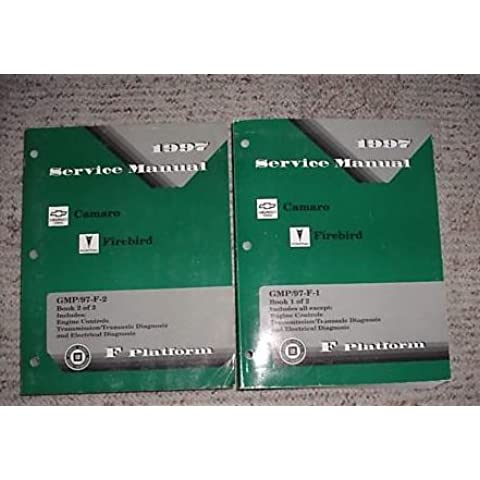 1997 Chevy Camaro Pontiac Firebird Service Manual Set (2 volume service manual set.)