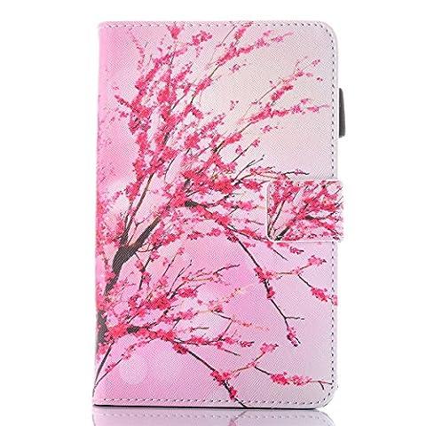inShang T280 Cover für Samsung Galaxy TAB A 7.0 Inch T 280 Hülle mit PU Leder Skins Etui Schutzhülle Ständer Smart Case