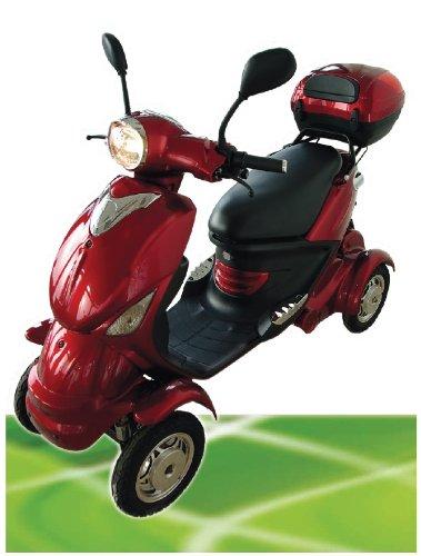 450W ElektroScooter ZWEISITZER Senioren ElektroMobil Mobility Vehicle Allen 1 bis 20km h*