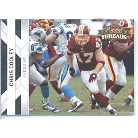 2010 Panini THREADS Football Card #146 Chris Cooley - Washington Redskins - NFL Trading Card by