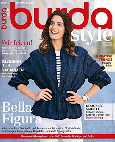 Burda style 2015 #10 Oktober-Ausgabe (Vintage-mode-magazin)