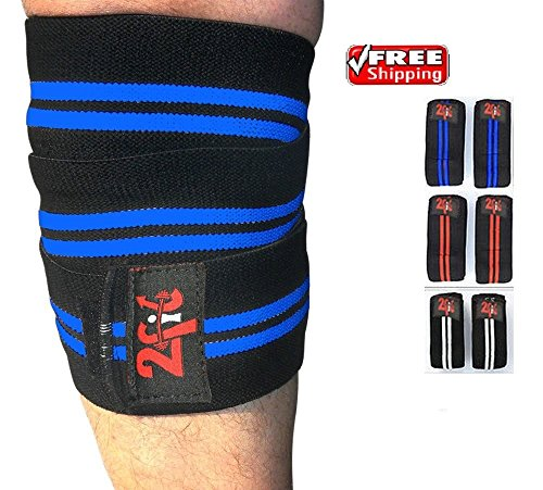 2fit-weight-lifting-knee-wraps-power-lifting-body-building-knee-support-bandage-pad-guards-straps-gy