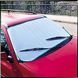 Unitec 73791 todo el año Protección térmica con revestimiento de aluminio para parabrisas de coche 70 x 200 cm