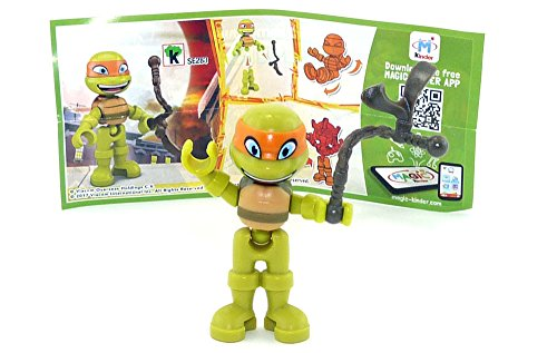 Kinder Überraschung Michaelangelo (SE283) von den NINJA TURTLES (Ninja Teenage Michaelangelo Mutant Turtles)