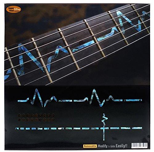 Griffbrett Marker Inlay Aufkleber Decals für Gitarre-EKG-line-ab
