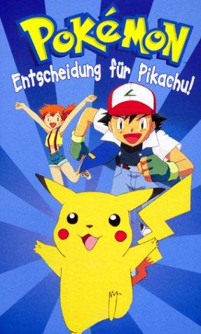 Preisvergleich Produktbild Pokémon TV-Serie 01: Entscheidung für Pikachu! [VHS]